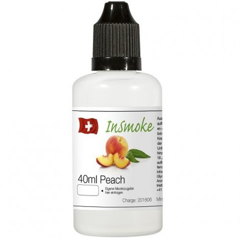 Insmoke Liquid - Peach 40ml