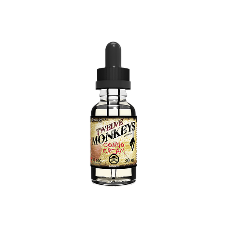 Twelve Monkeys Liquid - Congo Cream