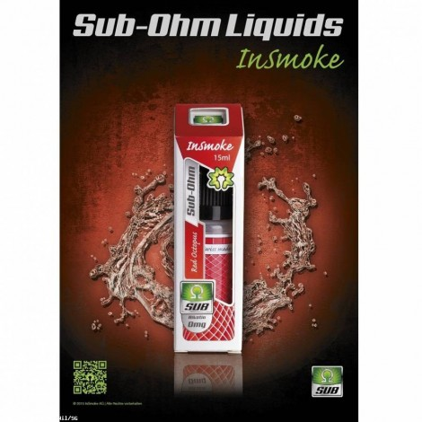 Sub Ohm Liquid Insmoke - Red Octopus