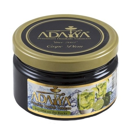Wasserpfeifentabak Adalya - Ice Lime on the Rocks 200gr