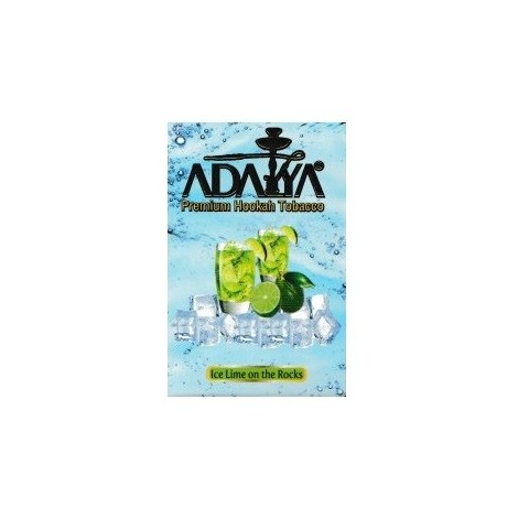 Wasserpfeifentabak Adalya - Ice Lime on the Rocks 50gr
