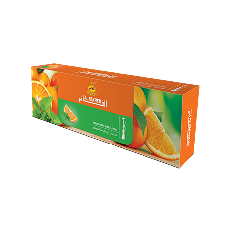 Wasserpfeifentabak Al Fakher Minze-Orange Mix 50gr