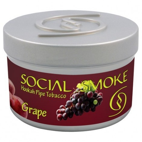 Wasserpfeifentabak Social Smoke Grape 100gr