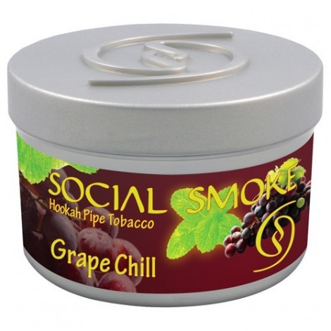 Wasserpfeifentabak Social Smoke Grape Chill 100gr