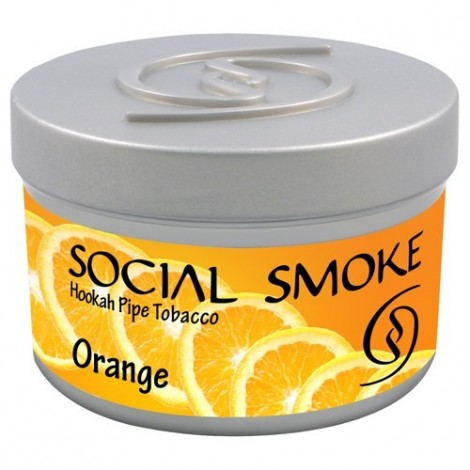 Wasserpfeifentabak Social Smoke Orange 100gr
