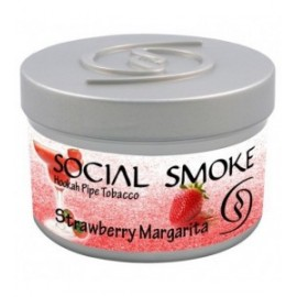 Wasserpfeifentabak Social Smoke Strawberry Margarita 100gr