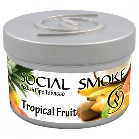 Wasserpfeifentabak Social Smoke Tropical Fruit 100gr
