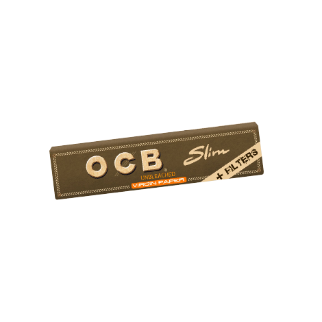 Zigarettenpapier OCB Virgin Unbleached - Slim & Filter