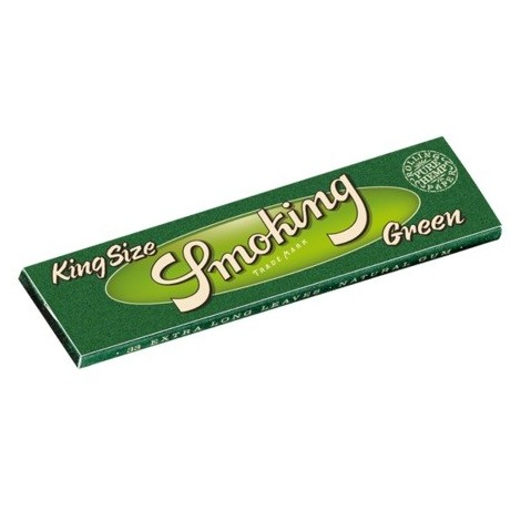 Zigarettenpapier Smoking King Size - Green