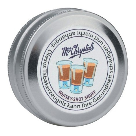 Schnupftabak Mc Chrystal`s Whisky Shot