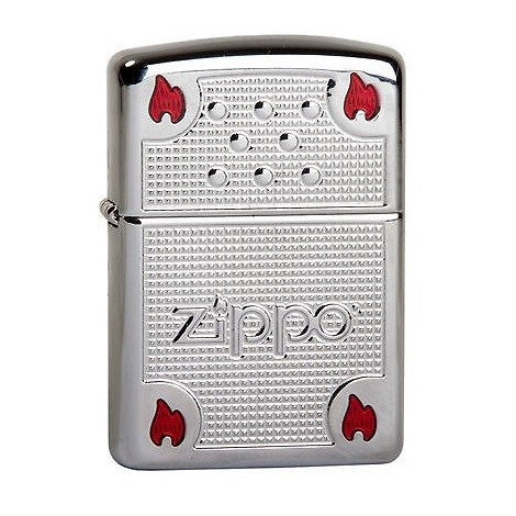 Zippo Limited Edition Chimney & Flames