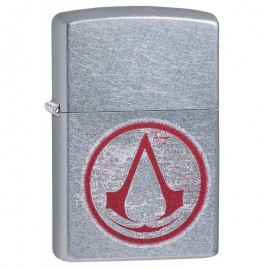Zippo – Assassin`s Creed Silver Brushed
