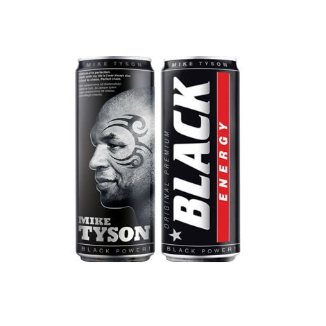 Black Energy Drink mike tyson