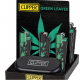 Clipper Metal - Green Leaves
