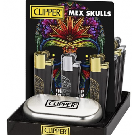 Clipper Metal - Mexican Skulls